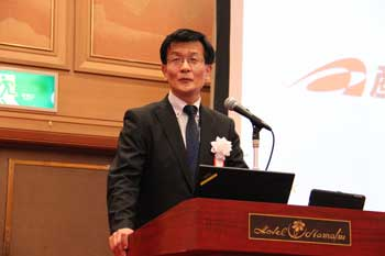 Photo:Dr. Yoshiro Owadano (Director-General, FREA)
