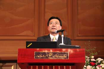 Photo:Dr. Shigeru Niki (Director, Renewable Energy Research Center)