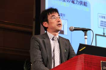 Photo:Mr. Kenji Otani (Energy Network Team)