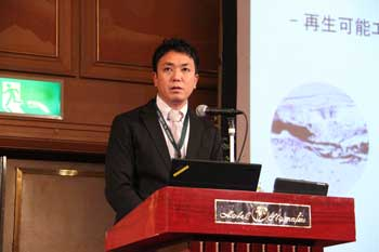 Photo:Dr. Taku Tsujimura (Hydrogen Energy Carrier Team)