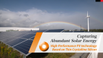 Cover of Photovoltaic Power Team