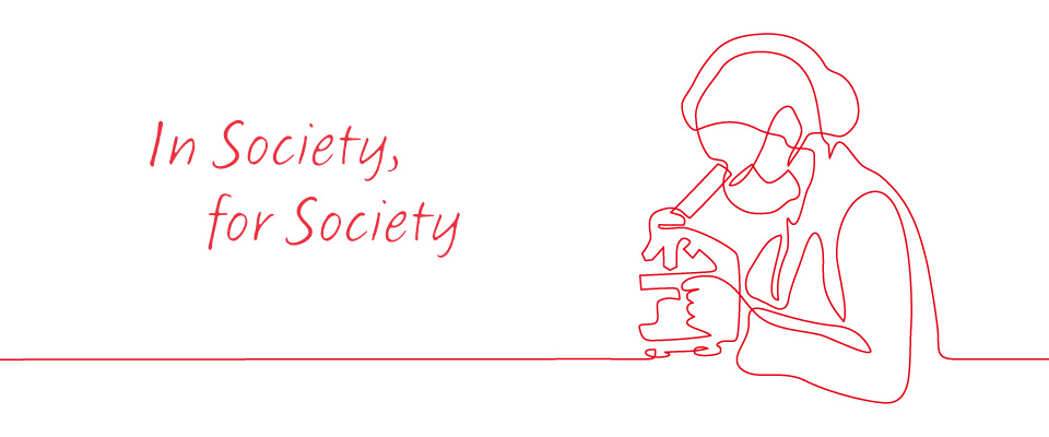 In Society, for Society—AIST's activities against COVID-19 —