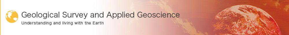 Geological Survey and Applied Geoscience Understanding and living with the Earth