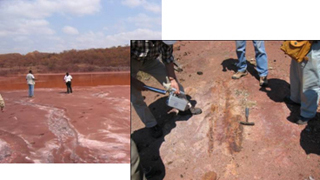 Gological survey of outcrop near heavy rare eath elements showings in Republic of South Africa figre