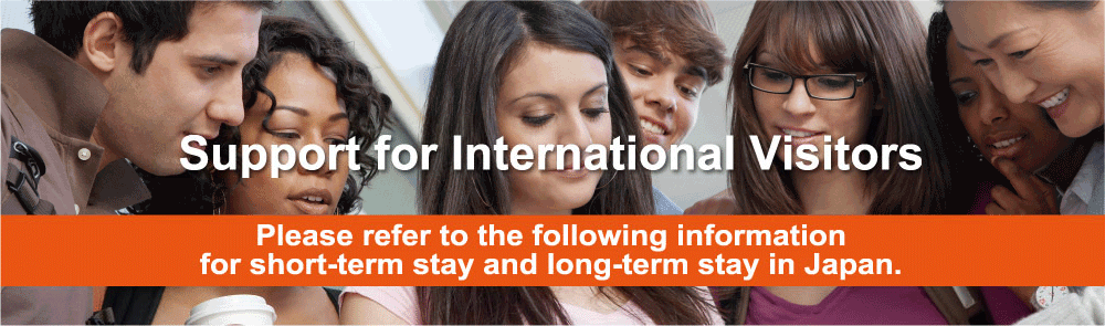 Support for International Visitors