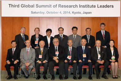 The 3rd Global Summit of Research Institute Leaders