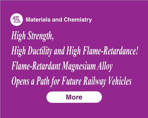 High Strength, High Ductility and High Flame-Retardance! Flame-Retardant Magnesium Alloy Opens a Path for Future Railway Vehicles
