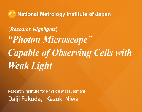 "Research Highlights, ""Photon Microscope"" Capable of Observing Cells with Weak Light"