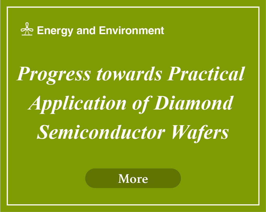 Progress towards Practical Application of Diamond Semiconductor Wafers