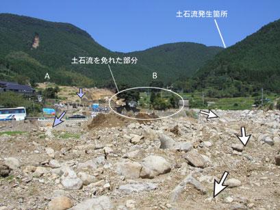 産総研:緊急調査:熊本県水俣市宝川内集地区土石流災害