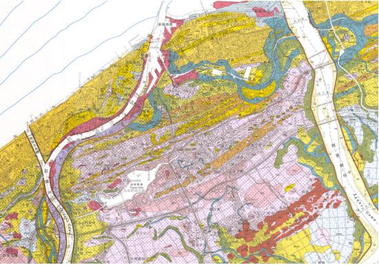 防災・減災の基礎資料となる越後平野の地質図幅を作成