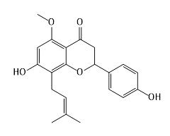 イソキサントフモールの構造式
