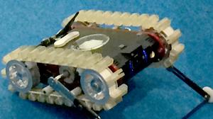 床下探査ロボットの写真