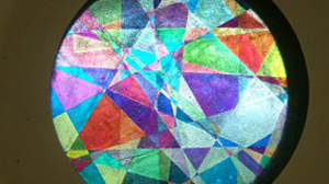 偏光万華鏡のイメージ写真