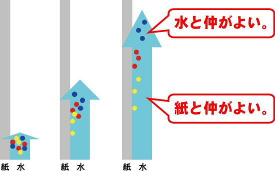 原理 グラフィー 薄 クロマト 層